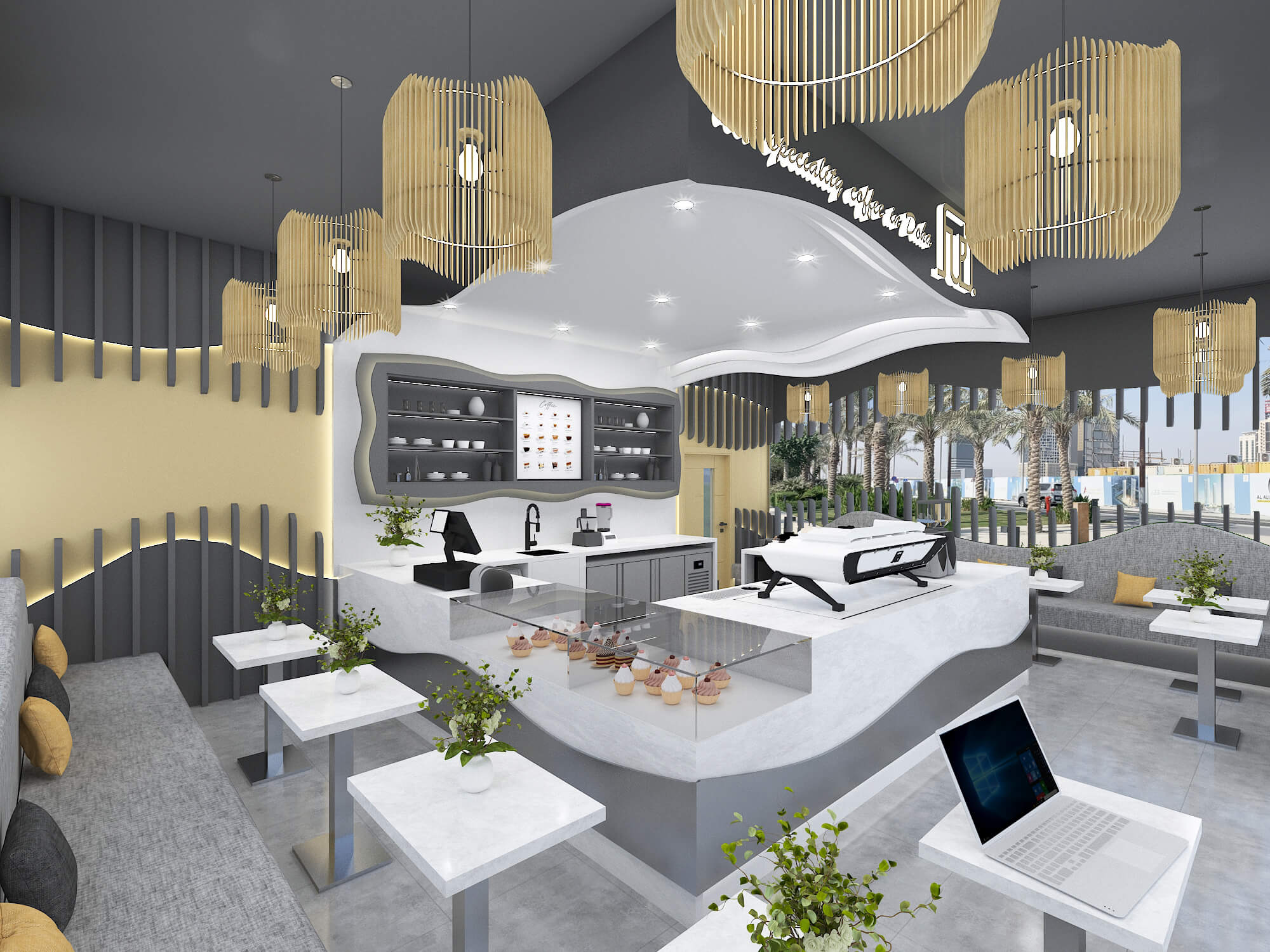 Проект на кафене <br> гр. Доха, Ката