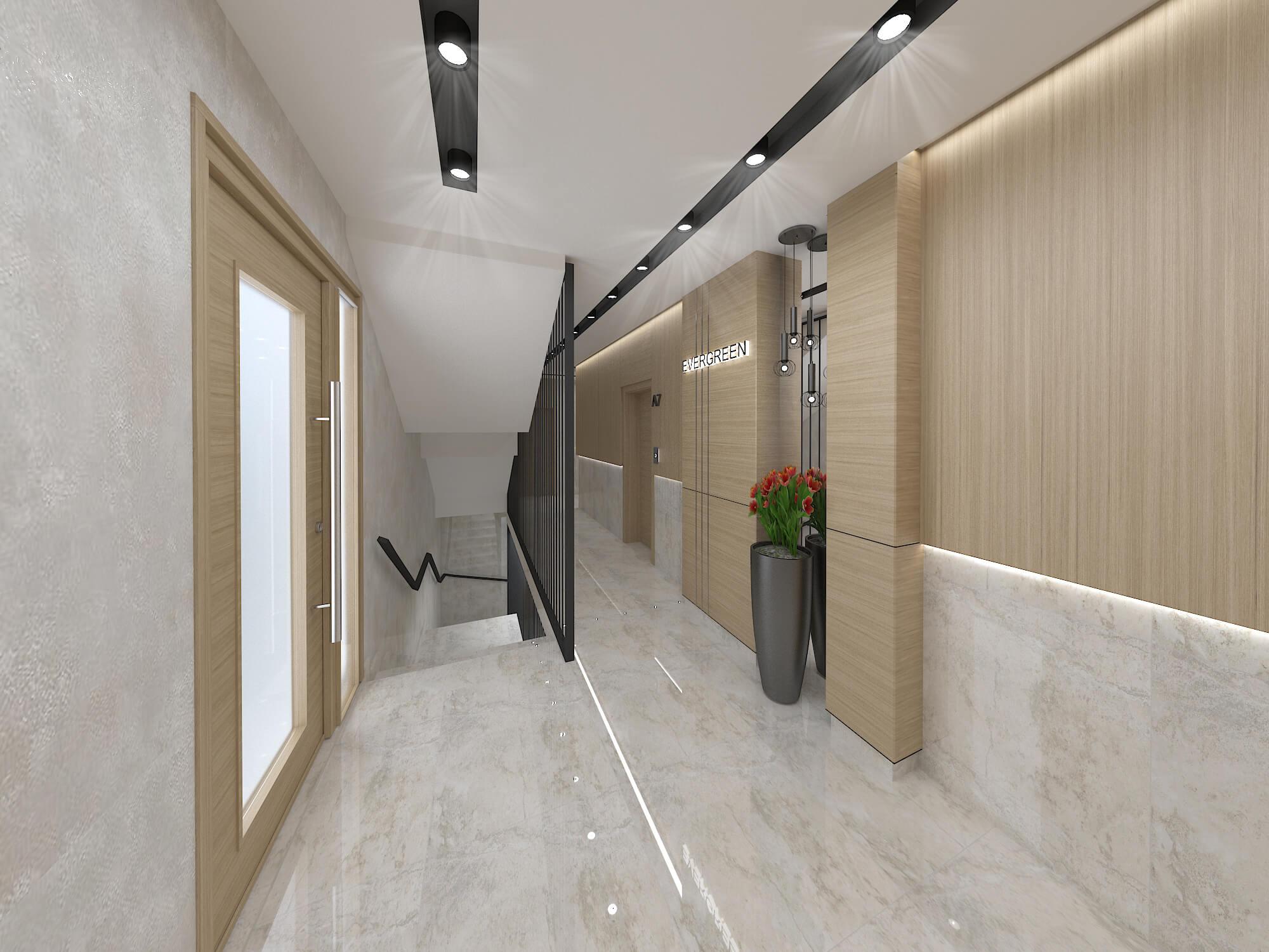 Проект на общи части <br> в жилищна сграда <br> гр.Варна