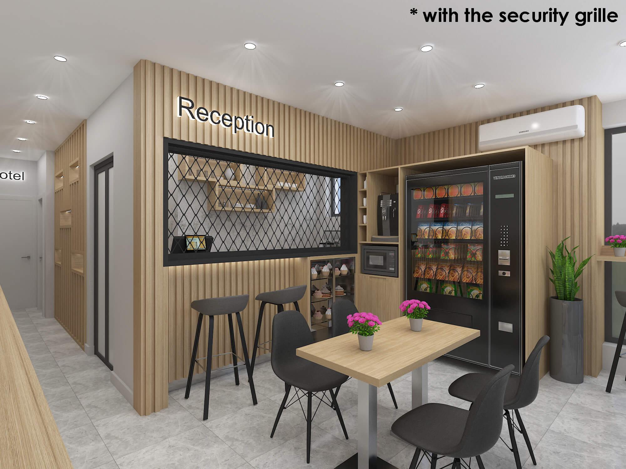 Проект на лоби / рецепция <br> в апарт хотел <br>гр. София